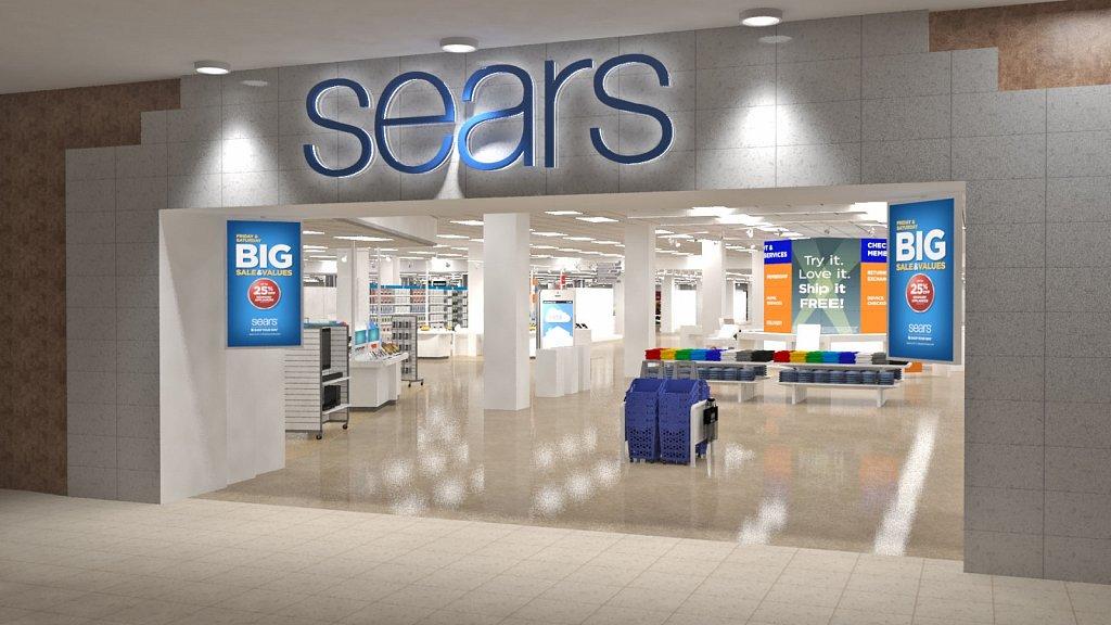 Sears Entrance