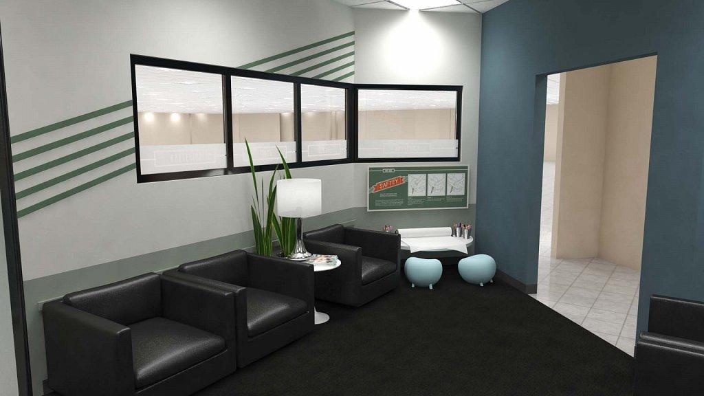 Auto Center Waiting Room