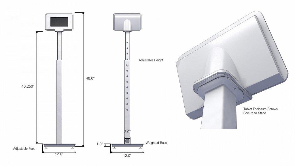 Tablet Pedestal