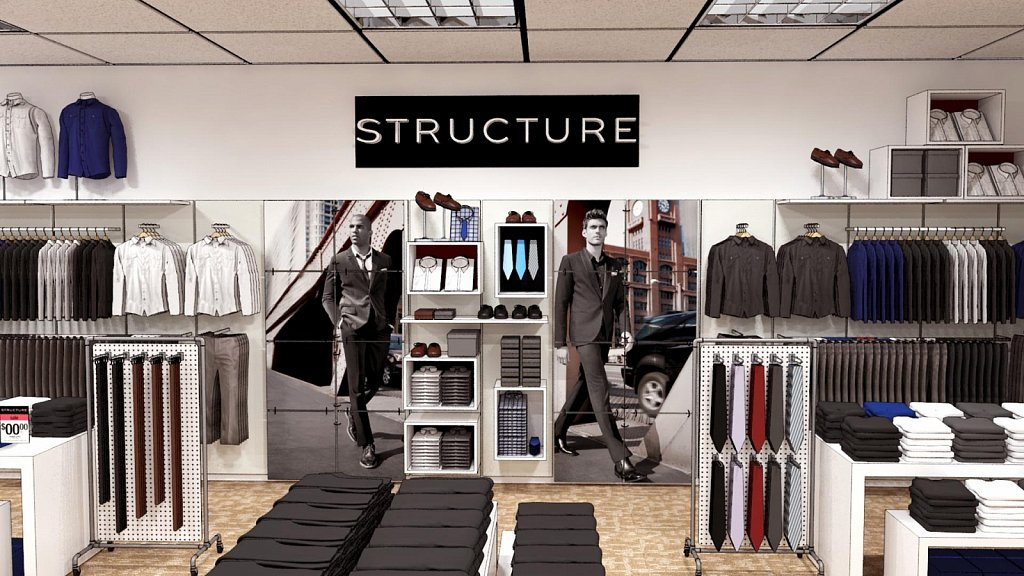 Cube in Structure Shop